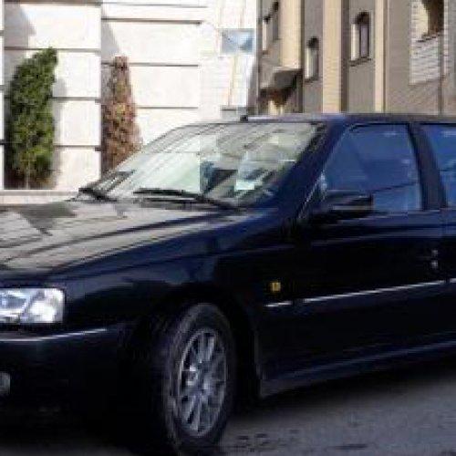 پژو پارس LX سال مدل ۹۳ داشبورد سوناتایی استثنایی