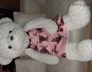 عروسک خرس گل رُز