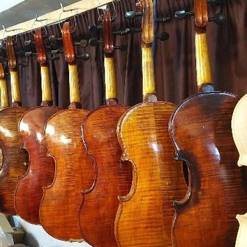 ویولن دستساز استاد میرزایی