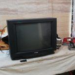 تلویزیون ۲۱ ایننچ سالم در حد نو