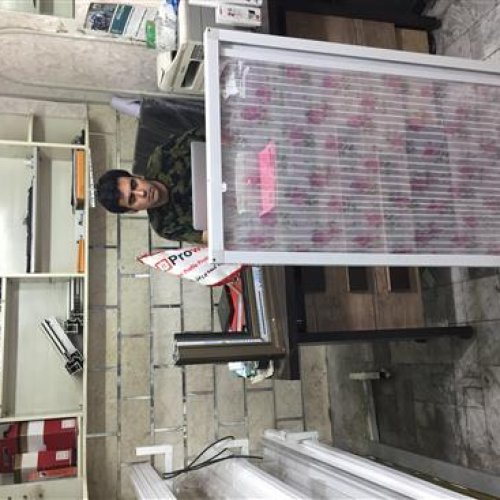 تولید توریهای پلیسه ای و ساده تولید پنجره دو جداره