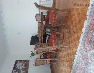 مبل کلاسیک هفت نفره و میز نهار خوری ۷ نفره