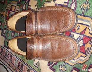 یک جفت کفش مردانه چرم سایز ۴۳