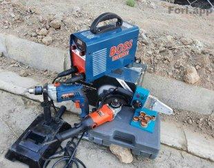 دستگاه موتور جوش دلر دریل فرز اتولوله