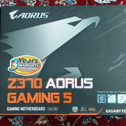 AORUS Z370 GAMING5  مادر برد نو