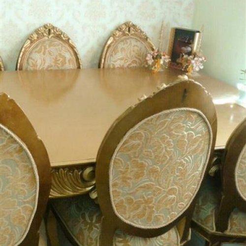 مبل ۹ نفره به همراه میز نهارخوری ۸ نفره