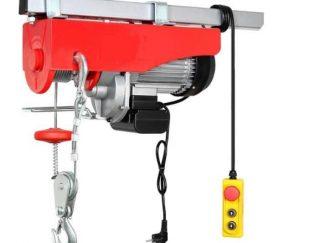 بالابر(ونچ) برقی مناسب برای نما کاران و صنعت کاران. نصب آسان روی لوله داربست