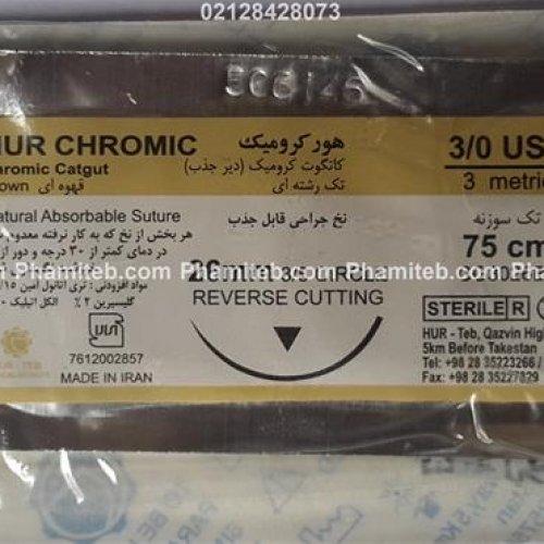 نخ جراحی کرومیک ۳.۰ سوپا