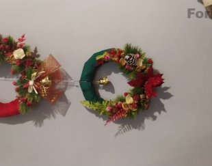 درخت کاج کریسمس و تزئینات