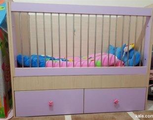 تخت و کمد کودک