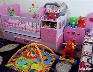 تخت سه منظوره نوزاد
