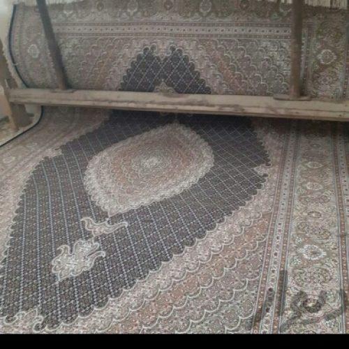 فرش تازه تمام خوش رنگ تمام گل ها ابریشم