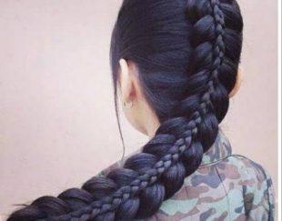 موهای طبیعی وبلند