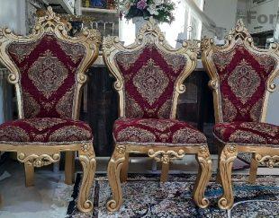 ۵ عدد صندلی چوبی ۳۰۰ هزار تومان