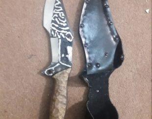 چاقو شکاری استاد کشاورز (فولادفنر) ساخت زنجان