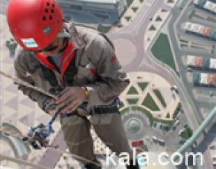 طناب کاری و کار در ارتفاع بدون داربست