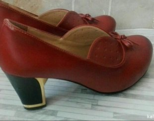 کفش قهوه ای نو