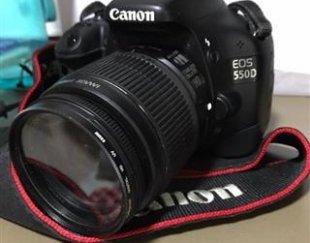 دوربین عکاسی حرفه ای canon 550d
