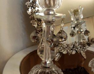 آینه و شمعدان به همراه کنسول