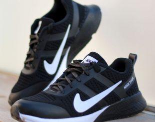 👟کفش مردانه Nikeمدل Bent(مشکی سفید)