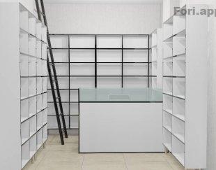 قفسه و پیشخوان مغازه