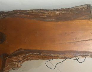 میز tv تمام چوب