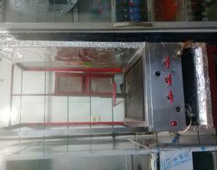 دستگاه فر شاورما گیربکسی در حد نو لار