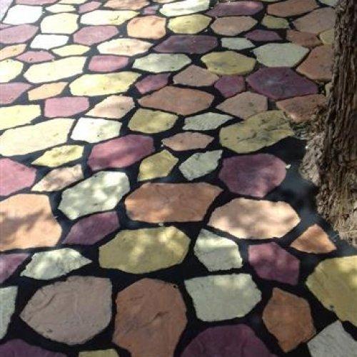 سنگ فرش ساختمانی