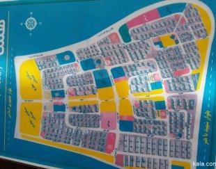 زمین تجاری ۲۴ متر و ۱۸ سانت شهر جدید پرند
