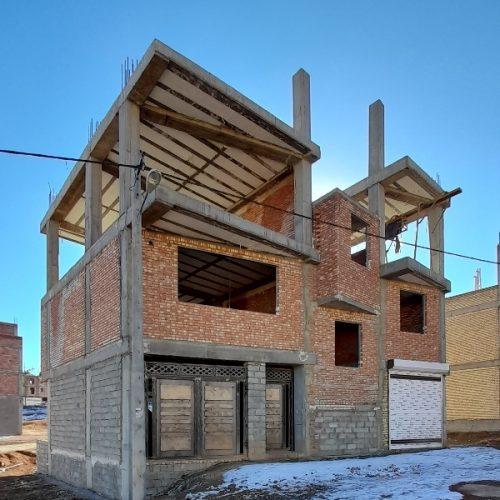 منزل نیمه ساخت