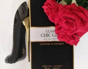 ادکلن زنانه گودگرل مدل پاشنه کفش