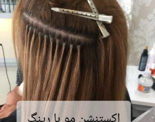انواع بافت مو و شنیون بافت