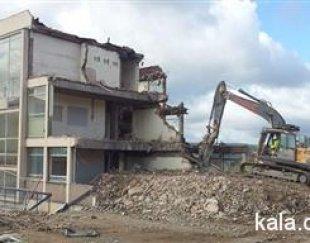 تخریب ساختمان خرید آهن آلات وضایعات