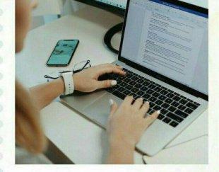 تایپست ساده با گوشی همراه ساده