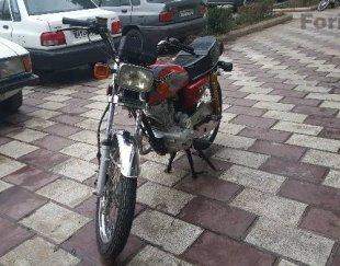 موتور سیکلت ساوین مدل۹۵ ۱۵۰ فابریکی استارتی دیسک