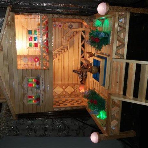 خانه چوبی کار دست