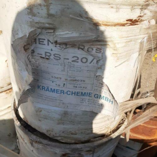خرید مواد شیمیایی تاریخ گذشته مانند رزین تینر رنگ روان کننده بتن  وغیره…