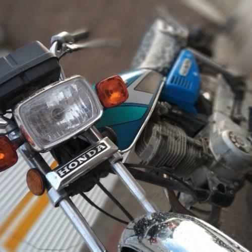موتور سیکلت ۱۲۵ مزایده