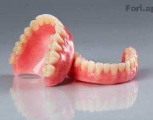 ساخت دست دندان مصنوعی