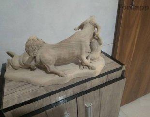 مجسمه چوبی نمونه خارجی تایلندی