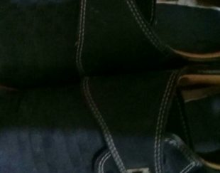 کفش پسرانه مشکی سایز ۳۶ ۳۷