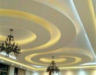 نصب تخصصی کناف ایران دکوراتیو سقف کاذب نور مخفی