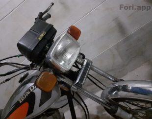موتور ۱۲۵ ناتالی مدل ۹۱،۹۲ در بوانات