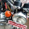موتور هندا مشکی