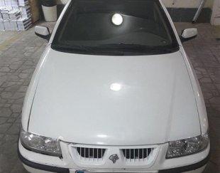 سمند سفید ef7 مدل ۹۱