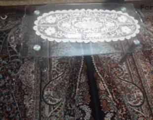 میز مبل شیشه ای