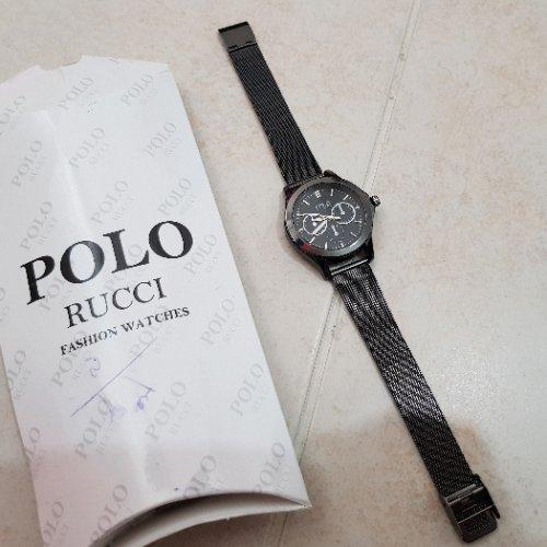 ساعت بند فلزی زنانه polo