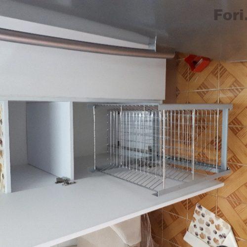 ساخت و نصب انواع کشو و سوپری آشپزخانه