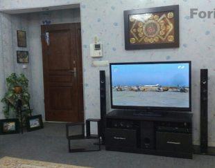 میز تلویزیون mdf مشکی در حد نو