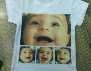 تیشرت بچگانه همراه با چاپ